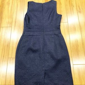 Banana Republic Dresses - Banana Republic Navy Textured Dress